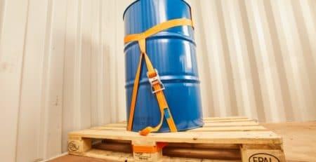 Lashing Fass-Sicherung: Stahlsickenfass sichern | Rothschenk