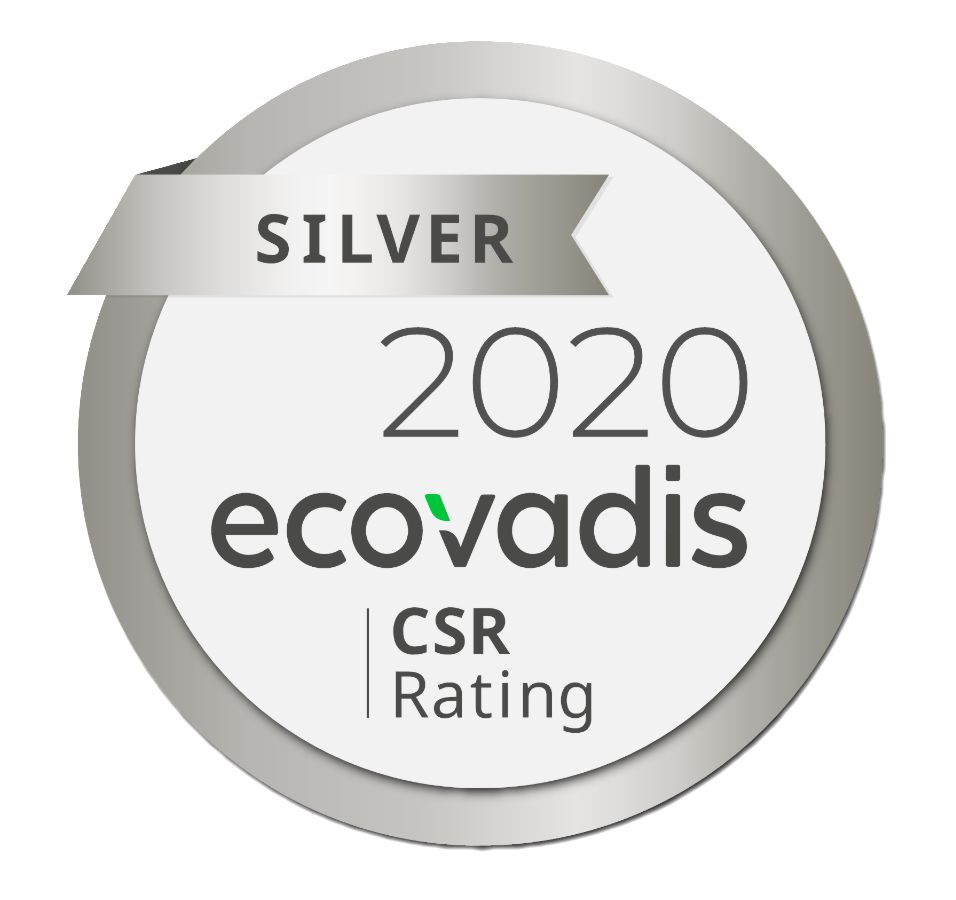 EcoVadis silver medall for Rothschenk