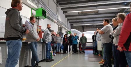 Sektempfang anlässlich der EcoVadis Auszeichnung der G&H GmbH Rothschenk