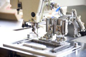 Detailaufnahme Nähmaschine Rothschenk