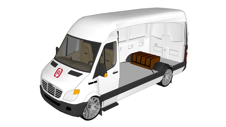 Sprinter Ladungssicherung nach Versandart | Rothschenk