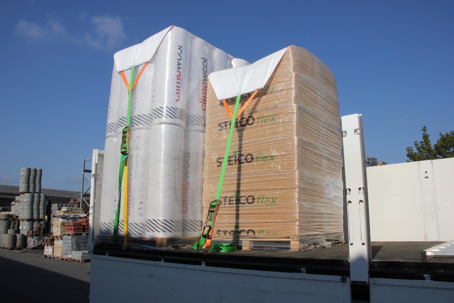 Baustoff-Transport - Special Y-COVER | Rothschenk Individuallösungen