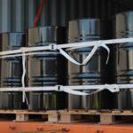 Fässer ein- oder mehrstöckig? Wir sichern Ihren Container