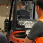 Zwei Mitarbeiter der G&H GmbH Rothschenk