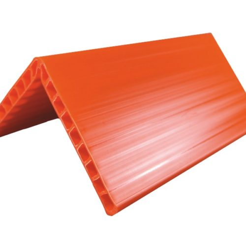Kantenschutz Ladungssicherung | Kantenschutzwinkel Kunststoff Orange | Ladungssicherungsprodukte Rothschenk