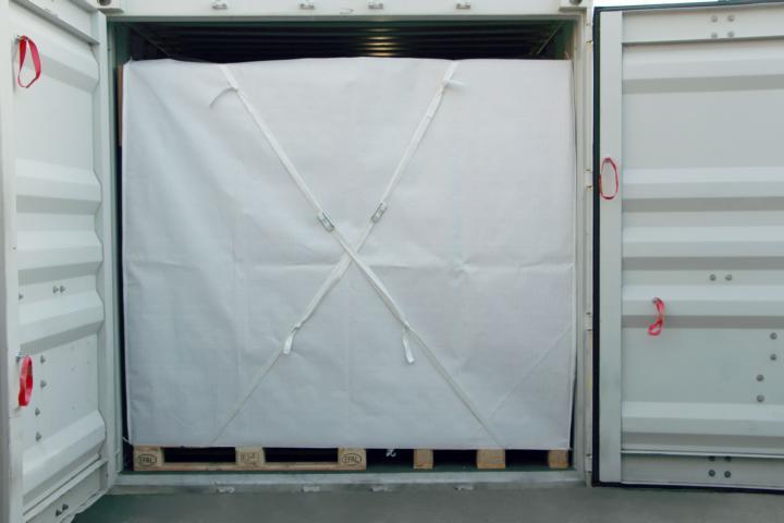 Full safety tarp full view