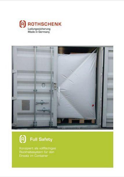 Full Safety Produktbroschuere Rothschenk