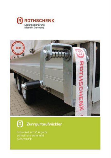 Produktinformationen Zurrgurtaufwickler Rothschenk
