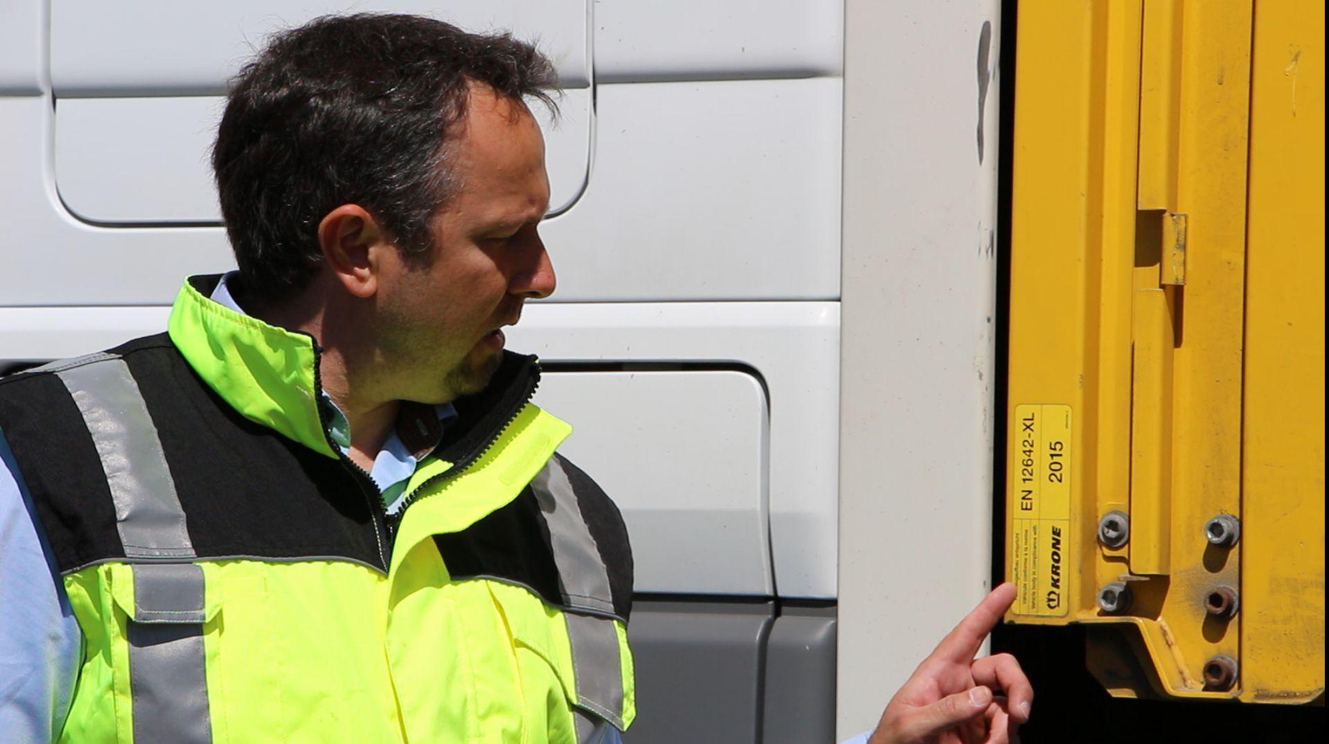 Schulung Ladungssicherung im LKW
