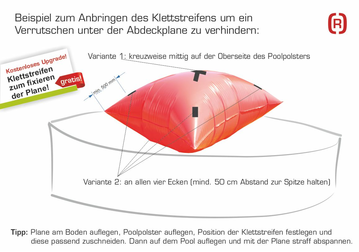 Poolpolster/Poolkissen-Set | Rothschenk